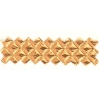 Vinyl Embossed Mylar Copper 52 Puff Diamond